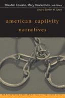 American Captivity Narratives