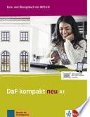 DaF kompakt neu A1  Kurs  und   bungsbuch   MP3 CD