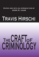 The Craft of Criminology