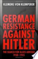 German Resistance Against Hitler
