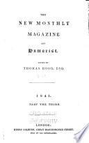 Colburn's New Monthly Magazine and Humorist