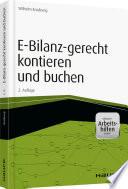 E-Bilanzgerecht kontieren und buchen - inkl. Arbeitshilfen online