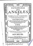 Patrocinio de angeles y combate de demonios