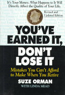 Ebook You've Earned It, Don't Lose It Epub Suze Orman,Linda Mead Apps Read Mobile