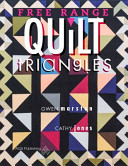Free Range Triangle Quilts : quilting. this is a new look for...