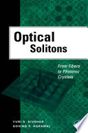 Optical Solitons : optic communications is very important...