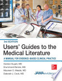 Users  Guides to the Medical Literature  A Manual for Evidence Based Clinical Practice  3E