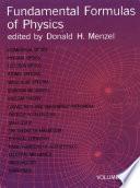 Fundamental Formulas of Physics  Volume Two