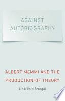 Against Autobiography