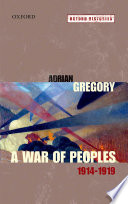 A War of Peoples 1914 1919