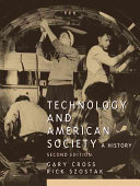 Technology and American Society