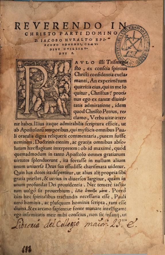 Collatio in omnes Diui Pauli Apostoli Epistolas /
