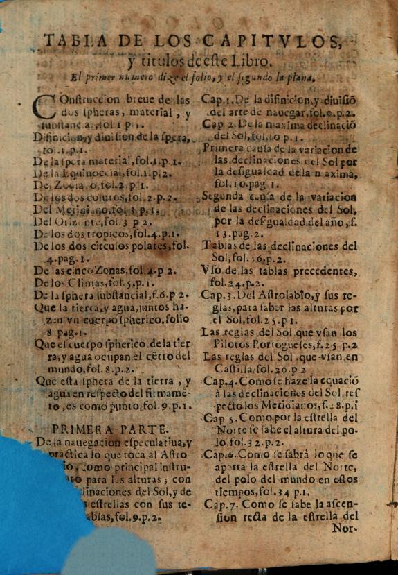 Nauegacion especulatiua y practica :reformadas sus reglas y tablas por las obseruaciones de Ticho Brahe ... /