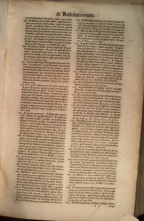 R.P.D. Antoninus Diana Panormitanus Clericus Regularis ... Coram ... Alexandro VII ... Coordinatus seu Omnes resolutiones morales ... /