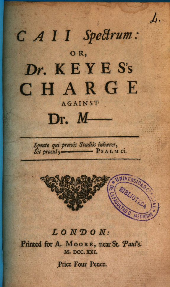 Caii Spectrum or Dr. Keyes