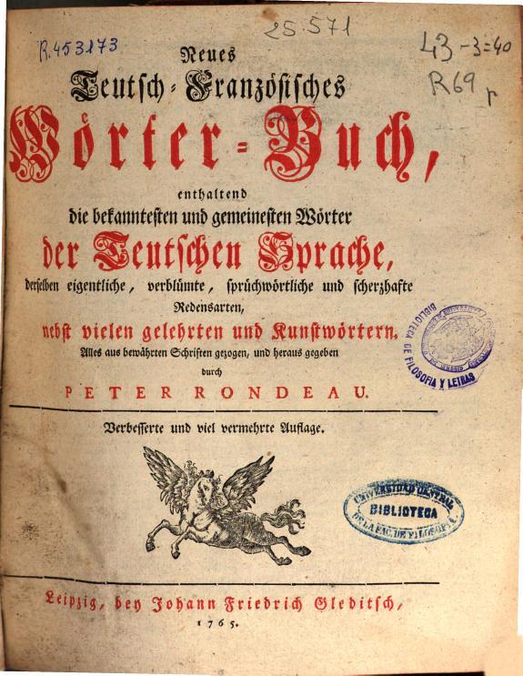 Neues deutsch-spanisches wörter-buch ... /