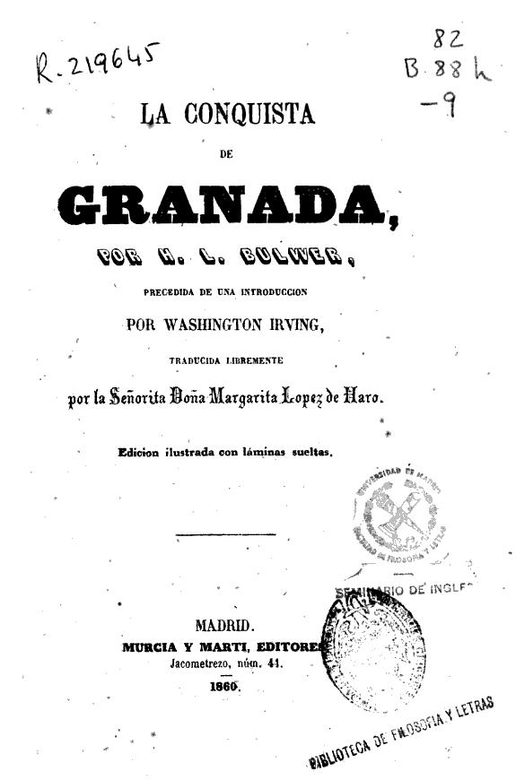 La conquista de Granada /