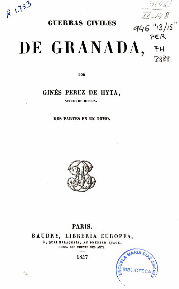 Guerras civiles de Granada /