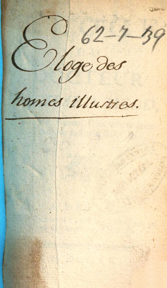 Eloge du docteur Richard Mead, tiré du Journal britannique Juillet et Août 1754.
