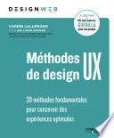 couverture Méthodes de design UX