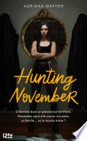 couverture Hunting November