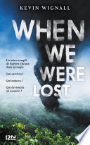 couverture When We Were Lost