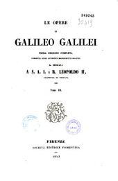 Le Opere di Galileo Galilei: Volumi 1-15