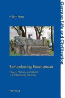 Remembering Rosenstrasse PDF