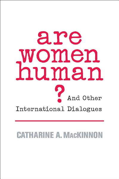 Download Are Women Human  Book