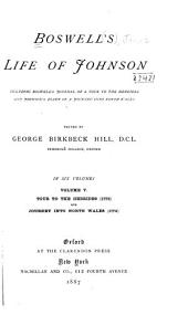 Boswell's Life of Johnson: Tour to the Hebrides (1773) and Journey into North Wales (1774)