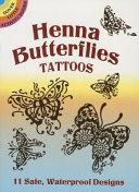 Henna Butterflies Tattoos