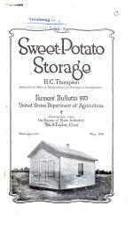 Sweet-potato Storage