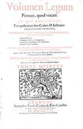 Corpus juris civilis Justinianei: Volume 5