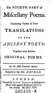 The Fourth Part of Miscellany Poems