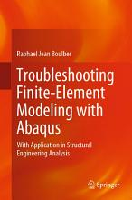 Troubleshooting Finite Element Modeling with Abaqus PDF