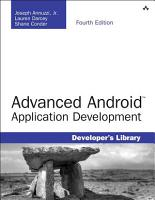 Advanced Android Application Development PDF