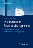 CSR und Human Resource Management PDF