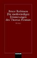 Die Merkwa1 4rdigen Erinnerungen Des Thomas Penman PDF