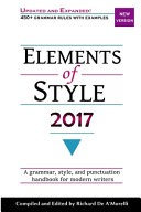 Elements of Style, 2017