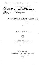 Selections from the Poetical Literature of the West