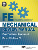 FE Mechanical Review Manual PDF