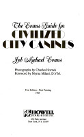 The Evans Guide for Civilized City Canines PDF