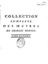 Oeuvres d'histoire naturelle et de philosophie: Volume8