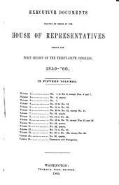 House Documents: Volume 126; Volume 129
