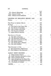 The Legends of Saint Patrick; Oiseen the Bard and Saint Patrick; Legends of Ireland's Heroic Age; Early Irish Records