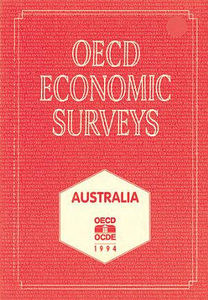 OECD Economic Surveys  Australia 1994 PDF