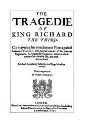 Shakespeare-quarto Facsimiles: Richard the Third ... 6. quarto
