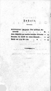 Hamann's Schriften, herausg. von F. Roth. 8 Theile [in 9].