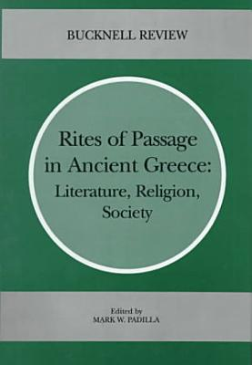 Rites of Passage in Ancient Greece