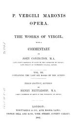P. Vergili Maronis opera: The Aeneid